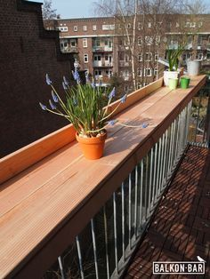 Image result for balcony railing table plans