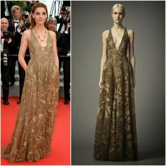 MYROYALS &HOLLYWOOD FASHİON: Princess of Savoy (actress Clotilde Courau) in Valentino – 'The Search' Cannes Film Festival Premiere