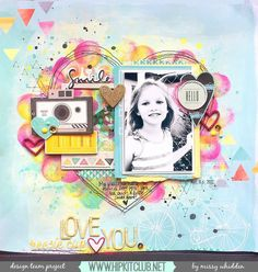 Hip Kit Club DT Project - 2015 August Hip Kits - American Crafts, Crate Paper, Freckled Fawn, Pinkfresh Studio, Dylusions, exclusive Project Life cards.