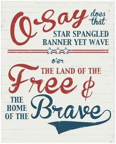 pinterest patriotic subway art | Free patriotic subway art | Holiday Ideas for Home