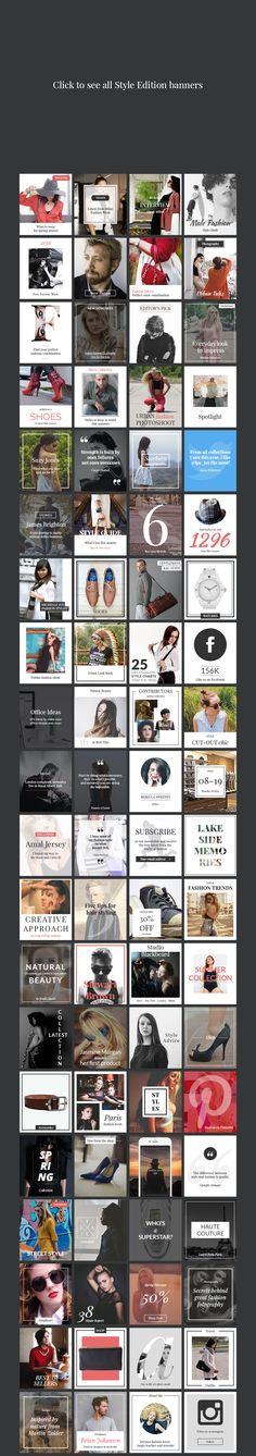 240 Banners Pack by Web Donut on @creativemarket