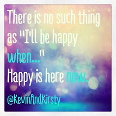 Don't wait for someone or something to make you happy. Be happy with where you're at right now. #happy #happiness #love #inspiration #motivation #belief #believe