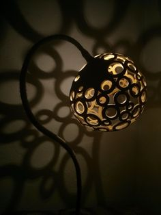 Beautiful Gourd Lamp