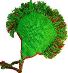 28927807580 Mohawk Wool Funky Beanie Flag Hats - USA