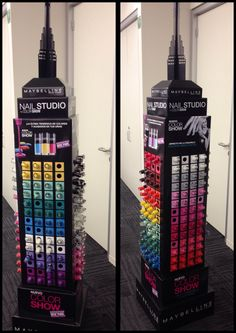 Maybelline NY cardboard display