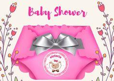 Invitacion  Baby Shower en Honor a Victoria