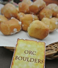 lord of the rings party food - Google Search