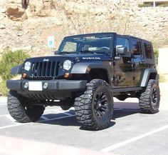 2012 Jeep Wrangler. Would only consider the Rubicon. Buy only, no lease because would void the warranty within hours of buying it. Better to buy an old Jeep.