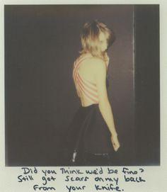 Taylor Swift Polaroid 50 - Bad Blood #1989