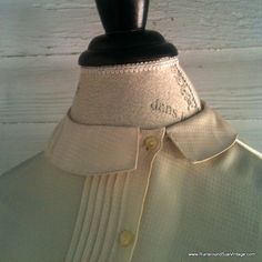 Vintage 1980s CHAMPAGNE Blouse with by runaroundsuevintage on Etsy, $20.00