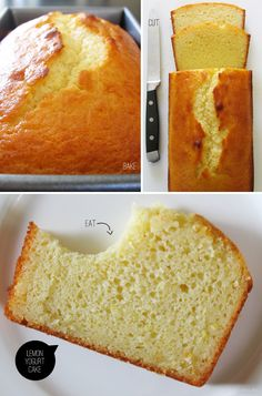 Lemon Yogurt Cake.Makes a lovely moist cake every time.