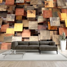 """Beautiful and Stunning this large wallpaper mural """"Copper Roof """" looks fantastic up and will transform your Room into something fabulous! This wallpaper mural will give off the wow factor in any room or workplace. 3d Wallpaper Mural, 3d Wall Murals, Photo Wallpaper, Mural Art, Copper Roof, Copper Wall, 3d Foto, Deco Cool, Standard Wallpaper"""