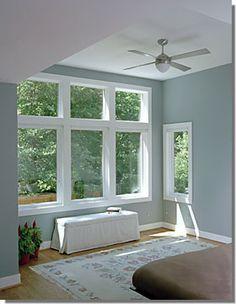 Master Bedroom Windows Photo Addition