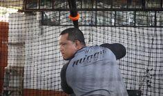 Miguel Cabrera se está preparando para la temporada /Foto @Tigers