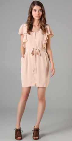 reminds me of the theory edmonda dress but cheaper and...not sold out!