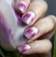 A Polish Addict: Tulip Inspired Gradient