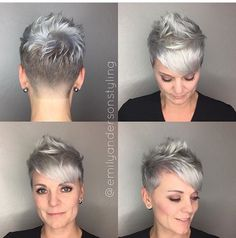 The pixie cut is versatility.Need to find pixie cuts and pixie hairstyles inspiration?Click our list of 80 trending pixie haircuts for women now. Best Pixie Cuts, Blonde Pixie Cuts, Short Hair Cuts, Short Pixie, Pixie Bob, Pixie Hairstyles, Straight Hairstyles, Cool Hairstyles, Edgy Pixie Haircuts