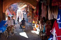Marrakech, MoroccoMorocco's third-largest city offers a dizzying array of souks (markets), mosques, ... - Photo: Bart Pro / Alamy.