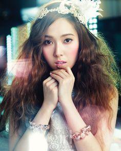 소녀시대 티파니와 제시카의 뷰티 화보 :: Vogue Girl