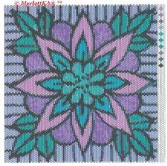 Χάντρες - 11 ornamentarnyh και floral μοτίβο για την ύφανση και το κέντημα. Συζήτηση σχετικά με LiveInternet - Ρωσική Υπηρεσία online ημερολόγιο