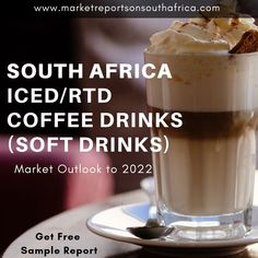 Iced/RTD Drinks market in registered a positive compound annual growth rate (CAGR) of during the period 2012 to 2017 with a sales value of ZAR Million in an increase of over Coffee Drinks, South Africa, Period, Beverages, Ice, Marketing, Food, Essen, Ice Cream