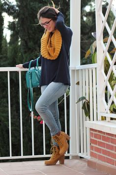 botines camel refresh, look tendencia vintage, blog de moda (3)