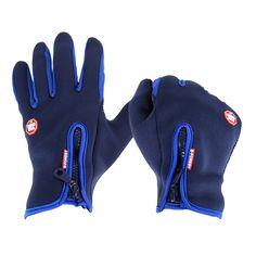 Warme Winddicht Wasserdicht Touchscreen Fleece Radfahren Handschuhe Unisex Vollfinger Fahrrad Handschuhe Winter Outdoor Sport Handschuhe S-XL