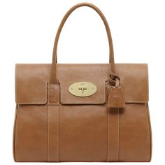 Mulberry - Bayswater in Oak Natural Leather    Classic bag - multipurpose no?