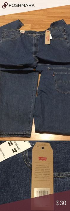 Men's big and tall Levi's NWT 50/32 Men's big and tall Levi's NWT 50/32 never worn Levi's Jeans Relaxed