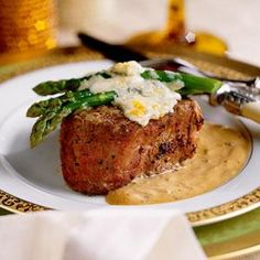 Valentines Day :: Dinner For The One You Love | Recipe | Saute Asparagus,  Filet Mignon And Asparagus