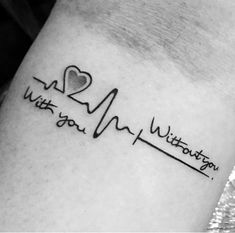 Heartbeat Tattoos for Men Heart tattoos for men Ekg tattoo, Tattoos, Love quote tattoos Hi Here we have best photo about tattoo designs he. Ekg Tattoo, Tatoo Henna, Back Tattoo, Tattoo Arm, Pulse Tattoo, Tattoo Fonts, Tattoo Anchor, Tattoo Wolf, Tiny Tattoo