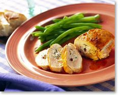 Chicken Breasts Stuffed with Olives & Goat Cheese (It's what's for dinner. No really, we're having this tonight.)