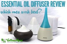 Essential Oil Diffuser Review-which ones work best