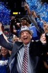 Dick Vitale cheering on the Memphis Tigers!