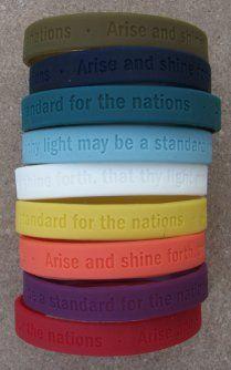 Arise and Shine Forth bracelets