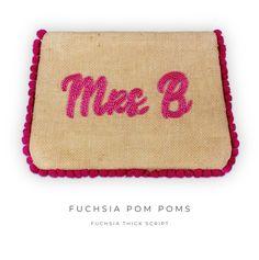 Mini Pom Pom Pouch
