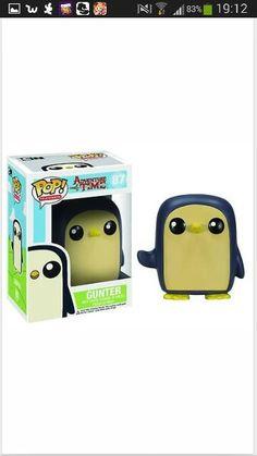 Adventure time- gunter pop doll
