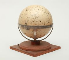 J. Forest and Girard, Barrère & Thomas 18th & 19th Century Paris -celestial globe