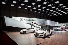 Mercedes-Benz: Geneva International Motor Show 2013 on Behance
