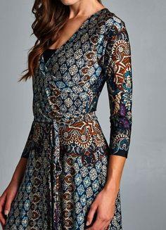 Kerry Wrap Maxi Dress