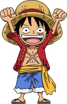 Chibi Luffy by ~SergiART on deviantART