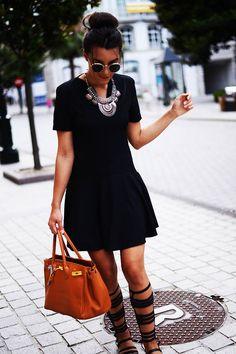 Lbd With An Ethnic Touch | The Fashion Through My Eyes-fashion Blog By Carla Estévez  #Vote or Share your preferred looks on LoLoBu/Vote