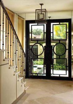 those doors! that railing! the floors!