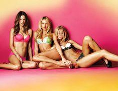 Alessandra Ambrosio, Candice Swanpoel + Erin Heatherton for Victoria's Secret