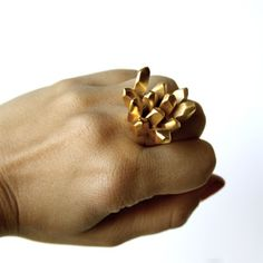 f. is for frank - Gold King Ring