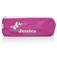 Personalised Butterfly Pink Pencil Case  from Personalised Gifts Shop - ONLY £7.99