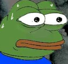 Image result for scared pepe meme