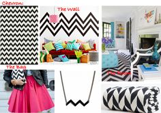 black and white chevron bedroom   Sponsored Post: Leopard/Berber/Chevron Room to Outfit + Giveaway with ...