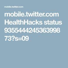 mobile.twitter.com HeaIthHacks status 935544424536399873?s=09