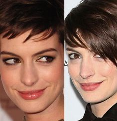 Anne Hathaway Nose Job Before & After, even Princess Mia...:(